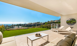 Chic new modern apartments with breath taking sea views for sale, Manilva, Costa del Sol 23759