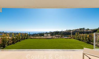 Chic new modern apartments with breath taking sea views for sale, Manilva, Costa del Sol 23762