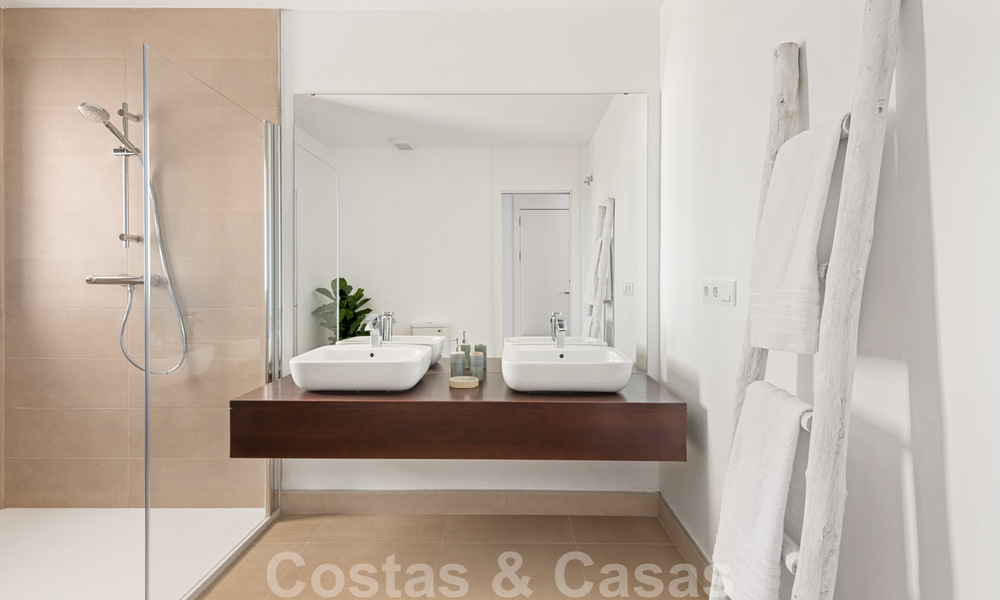 Chic new modern apartments with breath taking sea views for sale, Manilva, Costa del Sol 23764