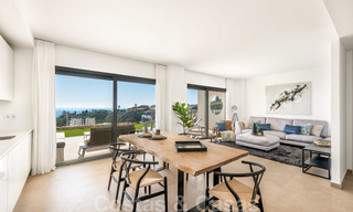 Chic new modern apartments with breath taking sea views for sale, Manilva, Costa del Sol 23765