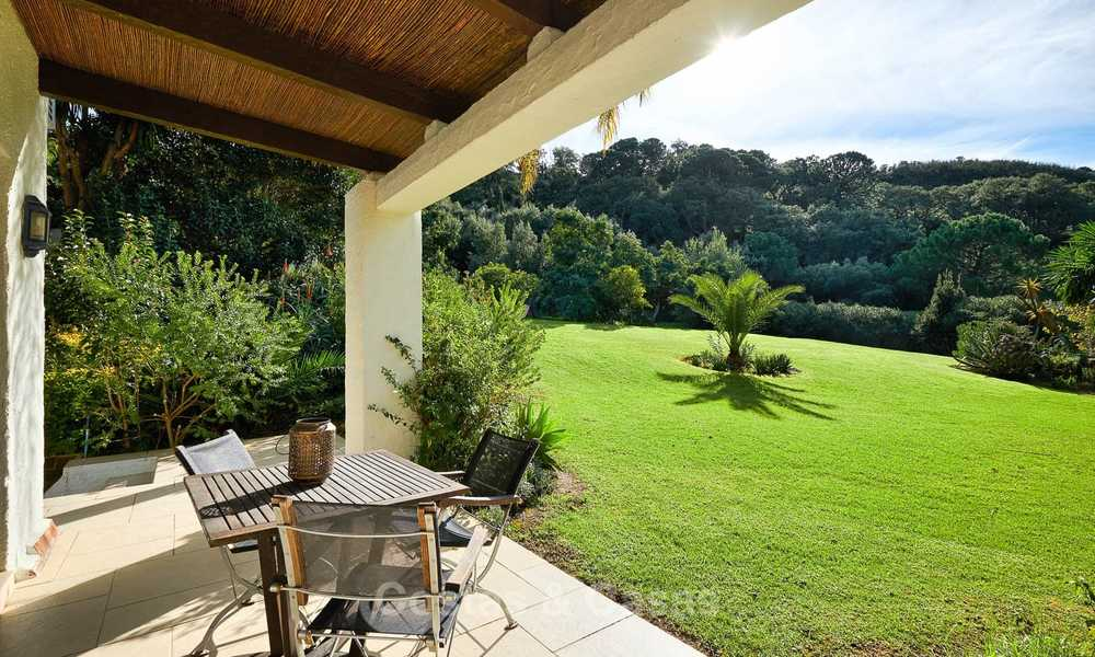 Spacious country-style villa in unique natural surroundings for sale, Casares, Costa del Sol 8078