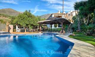 Spacious country-style villa in unique natural surroundings for sale, Casares, Costa del Sol 8132