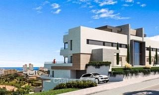 Elegant and spacious new apartments for sale, walking distance from beach and amenities, with sea views, Estepona 8063