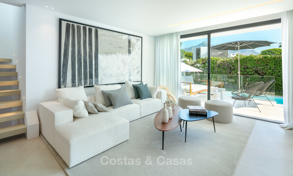 Ravishing renovated luxury villa for sale in Nueva Andalucia´s Golf Valley - Marbella 8150