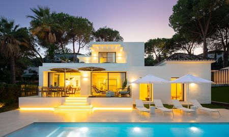 Ravishing renovated luxury villa for sale in Nueva Andalucia´s Golf Valley - Marbella 8159