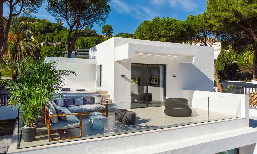 Ravishing renovated luxury villa for sale in Nueva Andalucia´s Golf Valley - Marbella 8164