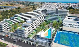New, attractively priced, modern apartments for sale, walking distance to the beach and amenities, Estepona 8170