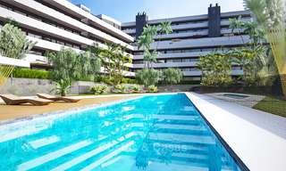 New, attractively priced, modern apartments for sale, walking distance to the beach and amenities, Estepona 8172