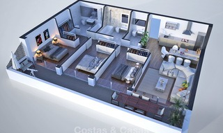 New, attractively priced, modern apartments for sale, walking distance to the beach and amenities, Estepona 8175