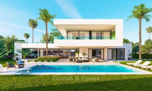 Impressive new contemporary luxury villa for sale, Nueva Andalucia, Marbella 8203