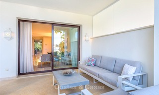 Beautiful luxury garden apartment in a sought-after residential complex for sale, ready to move in - Benahavis, Marbella 8337