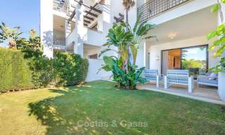 Beautiful luxury garden apartment in a sought-after residential complex for sale, ready to move in - Benahavis, Marbella 8338