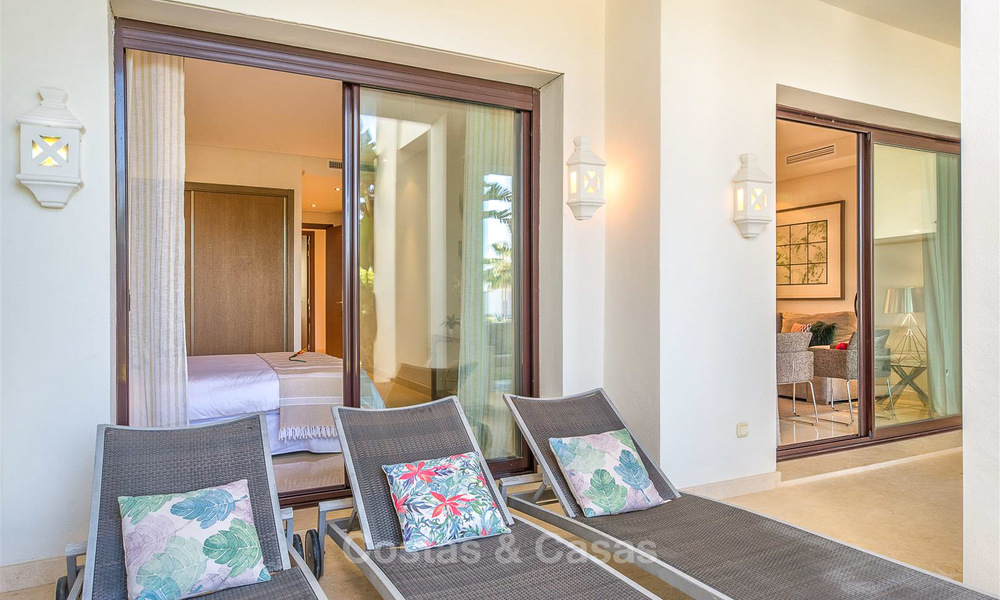 Beautiful luxury garden apartment in a sought-after residential complex for sale, ready to move in - Benahavis, Marbella 8339