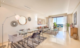 Beautiful, spacious luxury apartment with sea views for sale in a sought-after residential complex, ready to move in - Benahavis, Marbella 8286