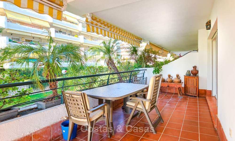 Very spacious front line golf apartment for sale, walking distance to amenities and San Pedro, Marbella 8435