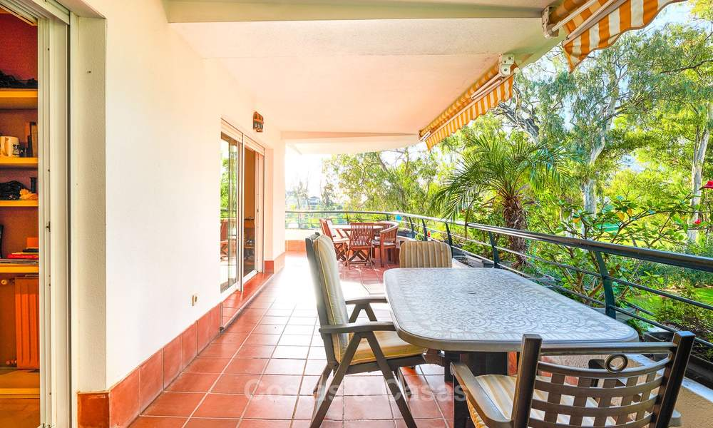 Very spacious front line golf apartment for sale, walking distance to amenities and San Pedro, Marbella 8436