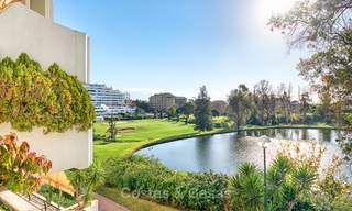 Very spacious front line golf apartment for sale, walking distance to amenities and San Pedro, Marbella 8438
