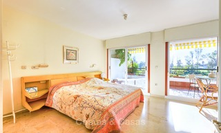 Very spacious front line golf apartment for sale, walking distance to amenities and San Pedro, Marbella 8439