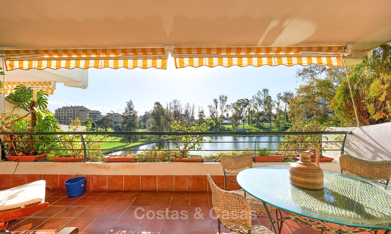 Very spacious front line golf apartment for sale, walking distance to amenities and San Pedro, Marbella 8441