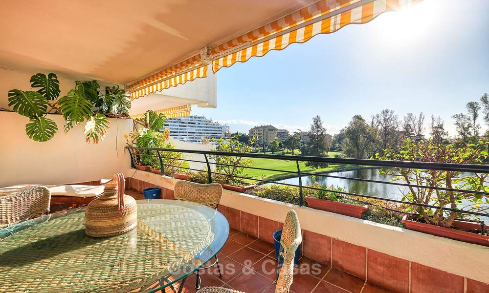 Very spacious front line golf apartment for sale, walking distance to amenities and San Pedro, Marbella 8442