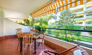 Very spacious front line golf apartment for sale, walking distance to amenities and San Pedro, Marbella 8450
