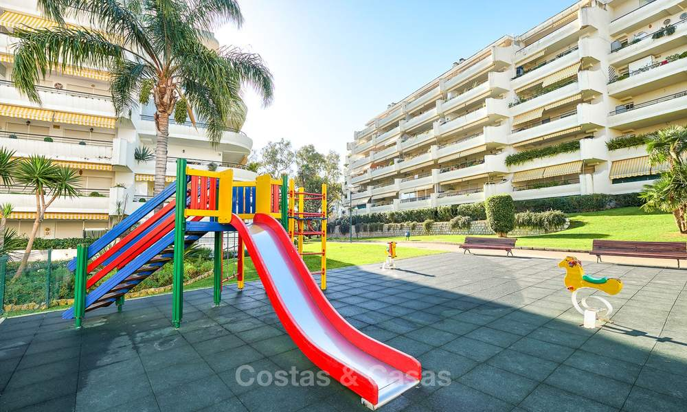 Very spacious front line golf apartment for sale, walking distance to amenities and San Pedro, Marbella 8461