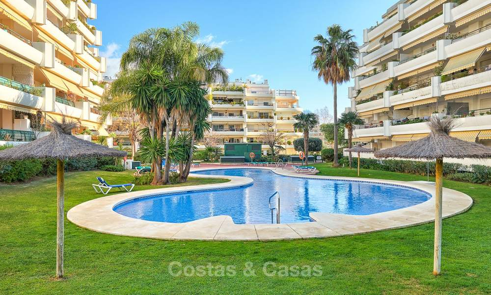 Very spacious front line golf apartment for sale, walking distance to amenities and San Pedro, Marbella 8462