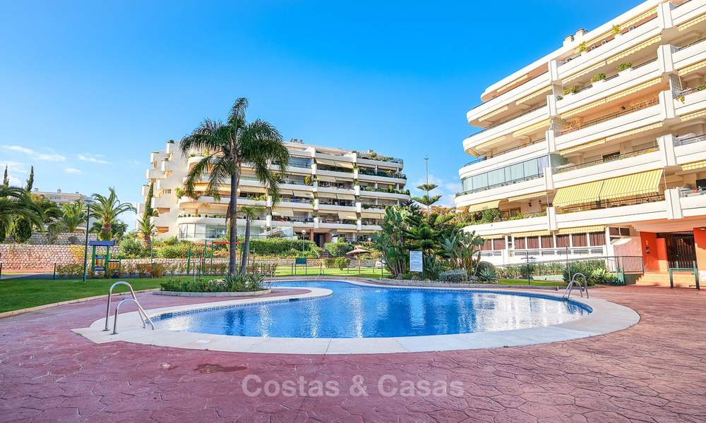 Very spacious front line golf apartment for sale, walking distance to amenities and San Pedro, Marbella 8463