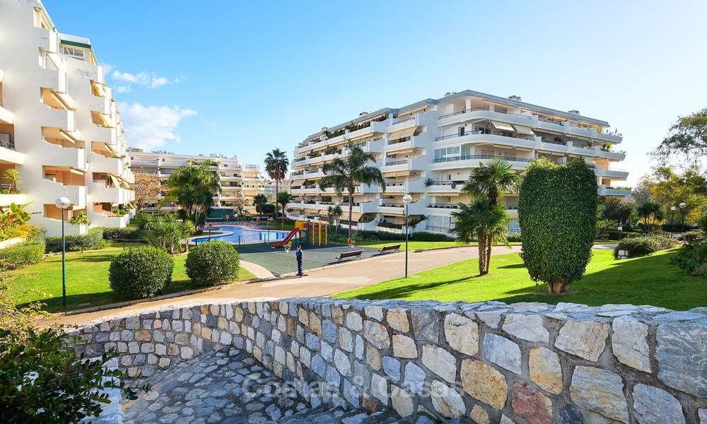 Very spacious front line golf apartment for sale, walking distance to amenities and San Pedro, Marbella 8464