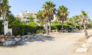 Beachfront luxury apartments for sale on the Golden Mile, Marbella, within walking distance to Puerto Banus 22345
