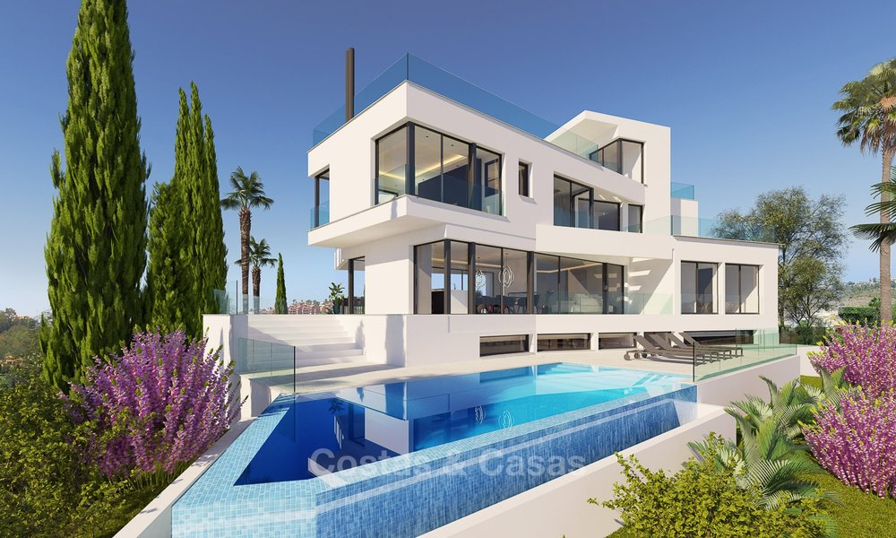 Ready to move in, exquisite contemporary luxury villa with magnificent views for sale, Marbella - Benahavis 8316