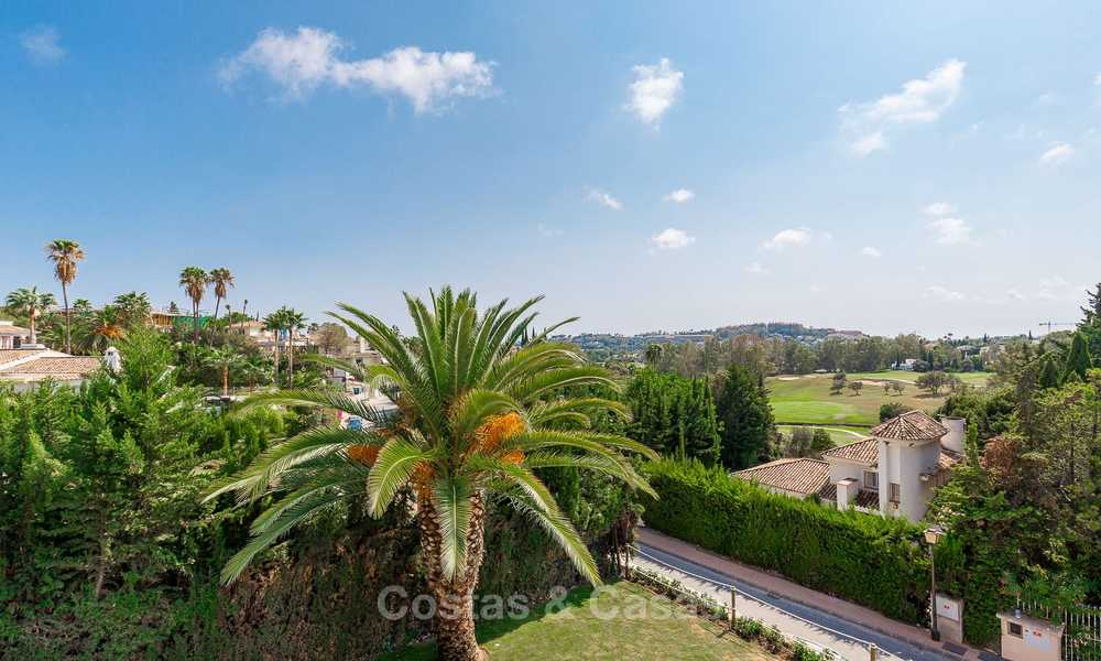 Ready to move in! Completely reformed Andalusian style villa for sale, Golf Valley, Nueva Andalucía, Marbella 8368