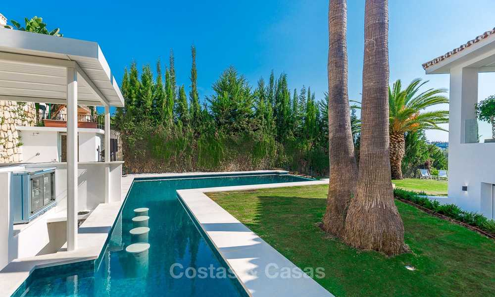Ready to move in! Completely reformed Andalusian style villa for sale, Golf Valley, Nueva Andalucía, Marbella 8396