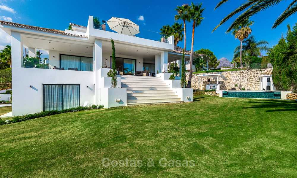 Ready to move in! Completely reformed Andalusian style villa for sale, Golf Valley, Nueva Andalucía, Marbella 8399