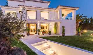 Ready to move in! Completely reformed Andalusian style villa for sale, Golf Valley, Nueva Andalucía, Marbella 8401