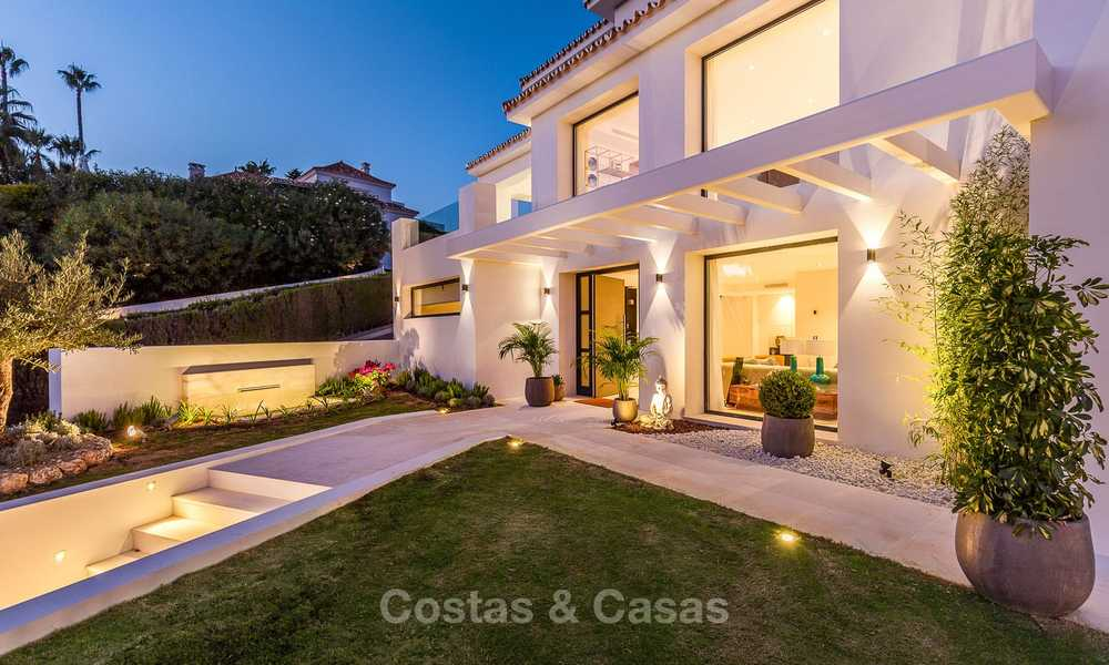 Ready to move in! Completely reformed Andalusian style villa for sale, Golf Valley, Nueva Andalucía, Marbella 8402