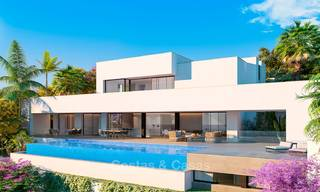 Impressive modern designer villa with amazing sea views for sale, in a golf complex - Benahavis, Marbella 8479