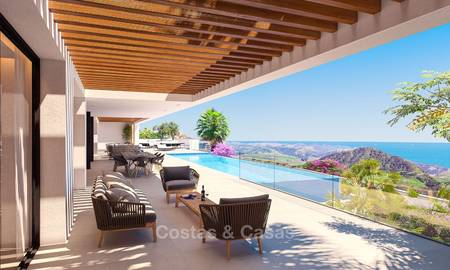 Impressive modern designer villa with amazing sea views for sale, front line golf - Benahavis, Marbella 8480