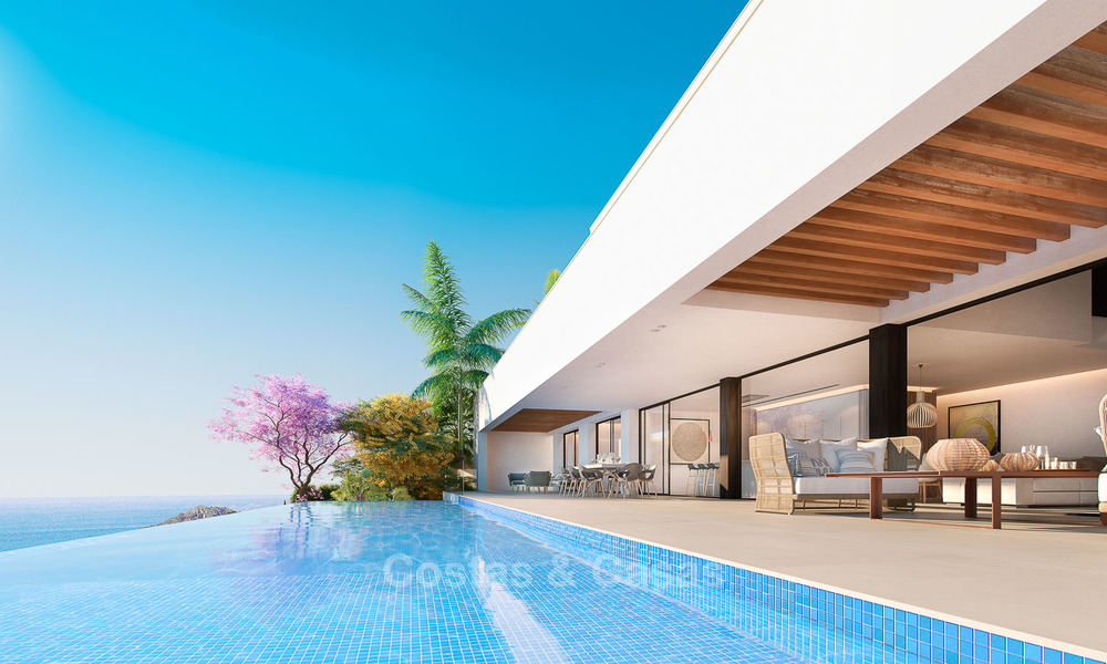 Impressive modern designer villa with amazing sea views for sale, in a golf complex - Benahavis, Marbella 8483