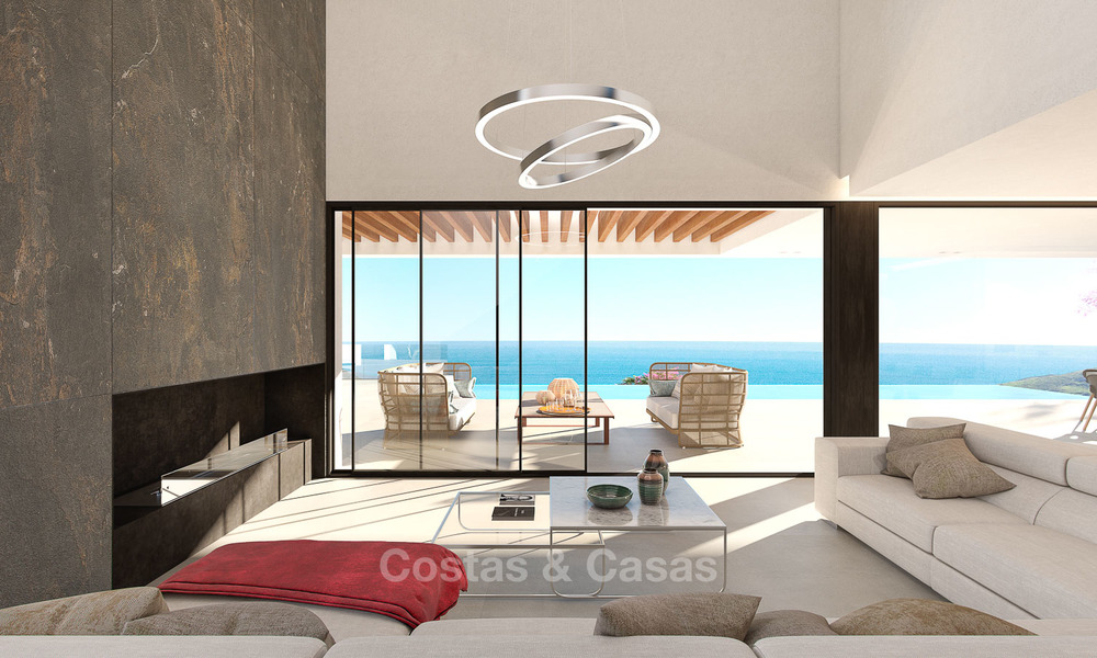 Impressive modern designer villa with amazing sea views for sale, in a golf complex - Benahavis, Marbella 8484
