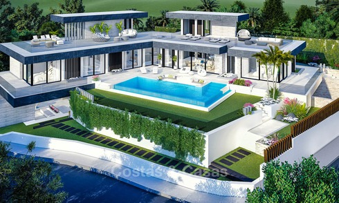 Majestic innovative designer villa with spectacular sea views for sale - Benahavis, Marbella 8503