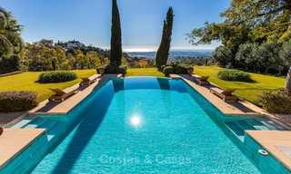 Sumptuous traditional-style luxury villa with magnificent sea views for sale, Benahavis, Marbella 8513