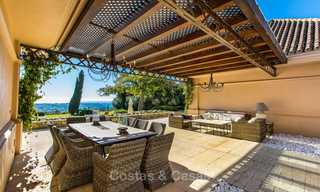 Sumptuous traditional-style luxury villa with magnificent sea views for sale, Benahavis, Marbella 8520