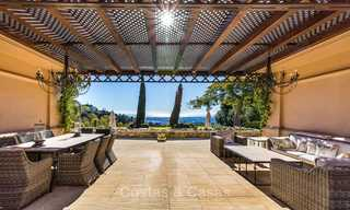 Sumptuous traditional-style luxury villa with magnificent sea views for sale, Benahavis, Marbella 8521
