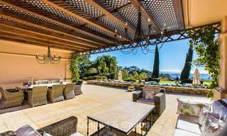 Sumptuous traditional-style luxury villa with magnificent sea views for sale, Benahavis, Marbella 8526