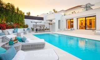 Spacious, nicely renovated luxury villa for sale with sea and golf views, Nueva Andalucía, Marbella 8582
