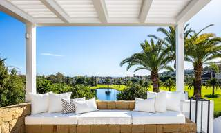Spectacular, fully refurbished luxury villa with sea views for sale, front line golf, Nueva Andalucía, Marbella 8647