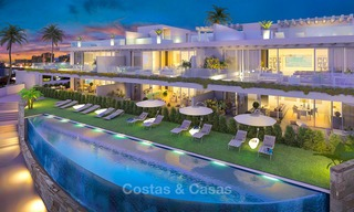 Beautiful new luxury apartments for sale with stunning sea views, walking distance beach - Benalmadena, Costa del Sol 9204