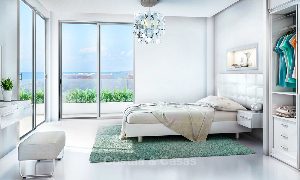 Beautiful new luxury apartments for sale with stunning sea views, walking distance beach - Benalmadena, Costa del Sol 9205