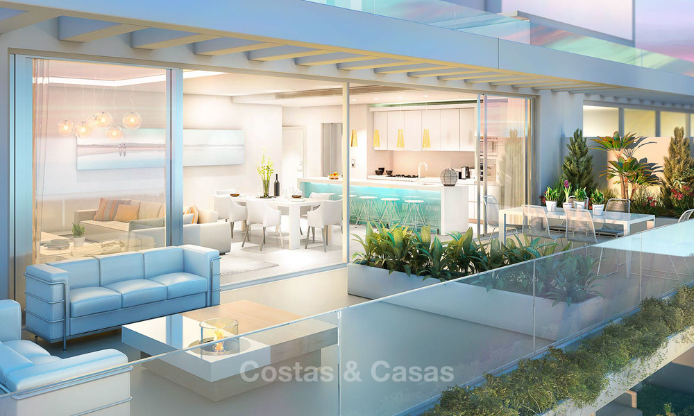 Beautiful new luxury apartments for sale with stunning sea views, walking distance beach - Benalmadena, Costa del Sol 9208